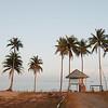 Beach hut at Sananwan Beach, Bang Saphan Noi