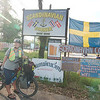 We stayed at the Scandanavian Corner in Khao Lak, run by an extremely friendly retired Swedish sailor