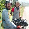 Fellow cyclist Mongolian Nyam Purevdorj (bikenomad.tumblr.com) on the road to Phang Nga
