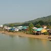 Riverside village in Ranong Province