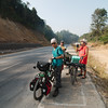 Climbing all day from Mae Sot to Doi Muser