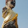 A crumbling Buddha in Ayutthaya