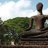 The ruins of Kamphaeng Phet Historical Park