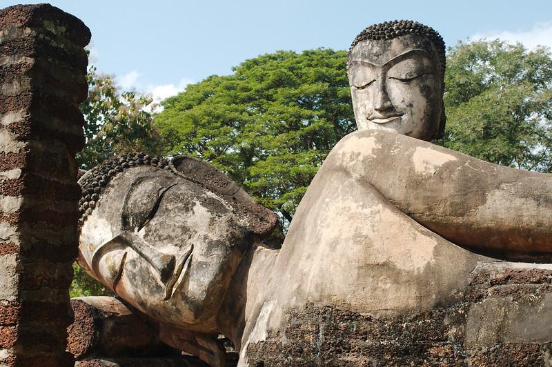 The Buddhas of Wat Phra Kaeo, Kampheang Phet Historical Park