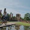 Alone at Wat Si Chum, Sukhothai Historical Park