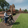 Checking off wats from the list, Sukhothai Historical Park