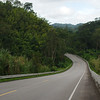 The pictures do not illustrate how difficult the climbing was on this stretch of highway