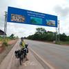 Entering Thailand from the Lao-Thai border at Nong Khai