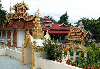 One of the Temples in Mae Hong Song