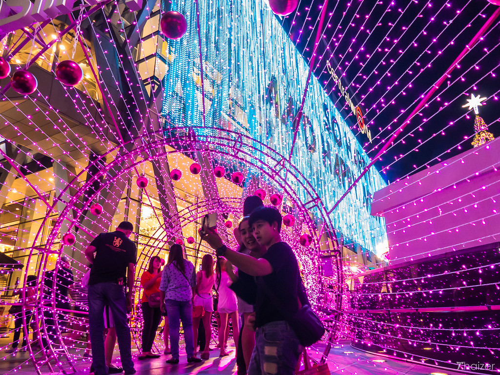 New Year decorations, Central World, Bangkok
