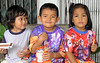 Children at Ban Lang Suan, December 2006