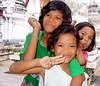 Children at Nakhon Si Thammarat, December 2006