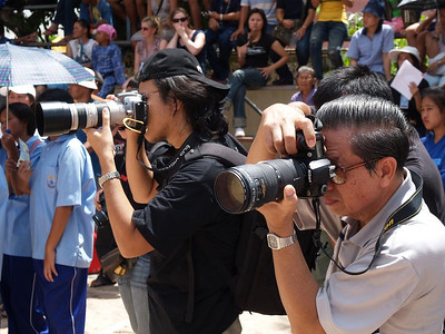 This event had more international photographers than any any other event I have been to in Thailand.