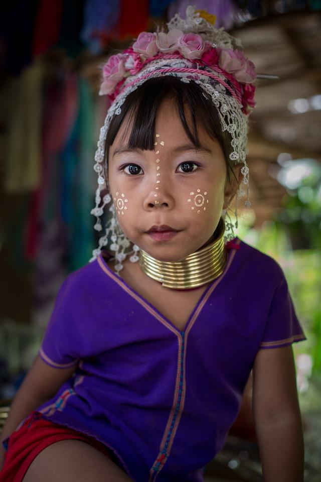 Young Padong Girl - Thailand