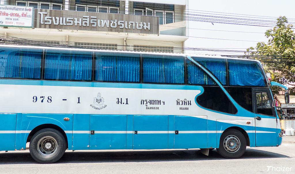 Bangkok to Hua Hin bus