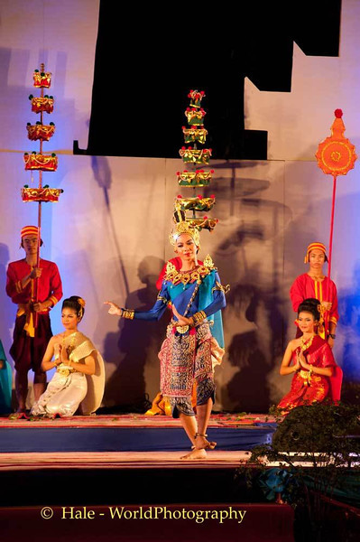Performance of the Vessantara Jataka. Roi-Et