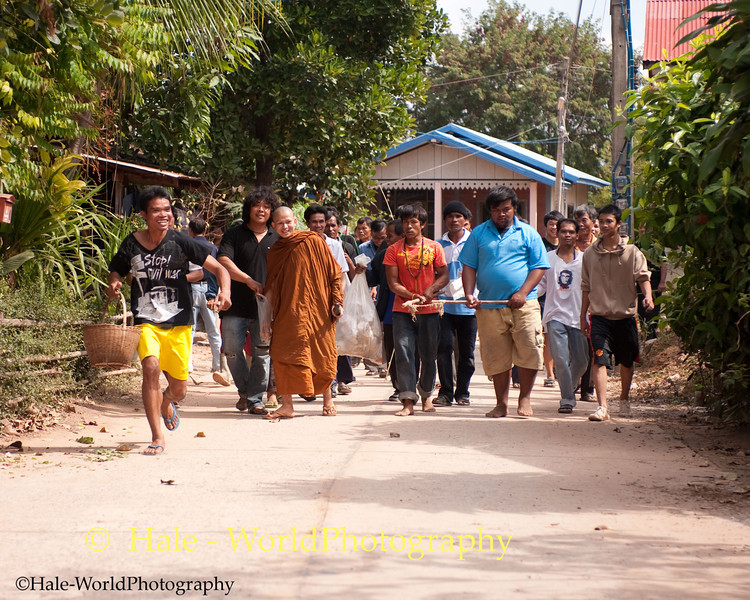 Village Monk Leads the Villagers In Quest To Capture Evil Spirits