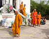 Monks Leaving The Furnace After Paying Their Respects to the Deceased