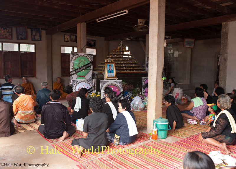Funeral Ritual Inside the Deceased's Home