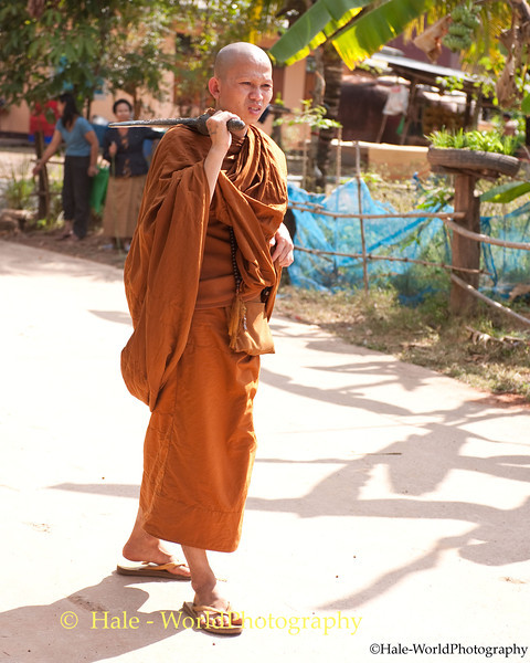 Village Monk Supervising the Hunt for Ghosts