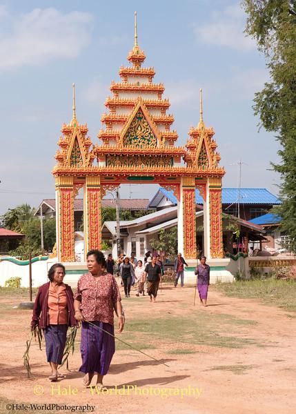 Village Wat Entrance