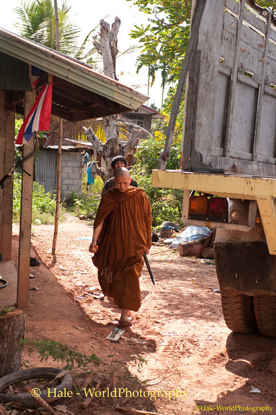 Village Monk Searching for Phii Ling