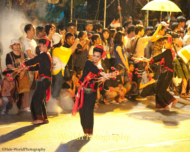 University Students Participating In Asarnha Bucha Day Merit Making Ritual During Night Procession