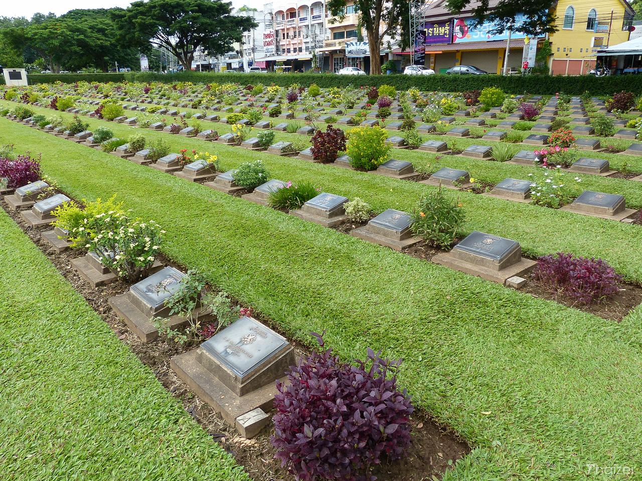 Kanchanaburi War Cemetery - Don Rak