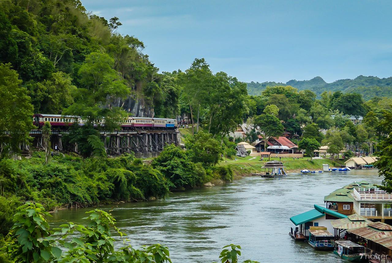 Kanchanaburi countryside