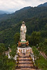 Guan-yin statue, Wat Bang Riang