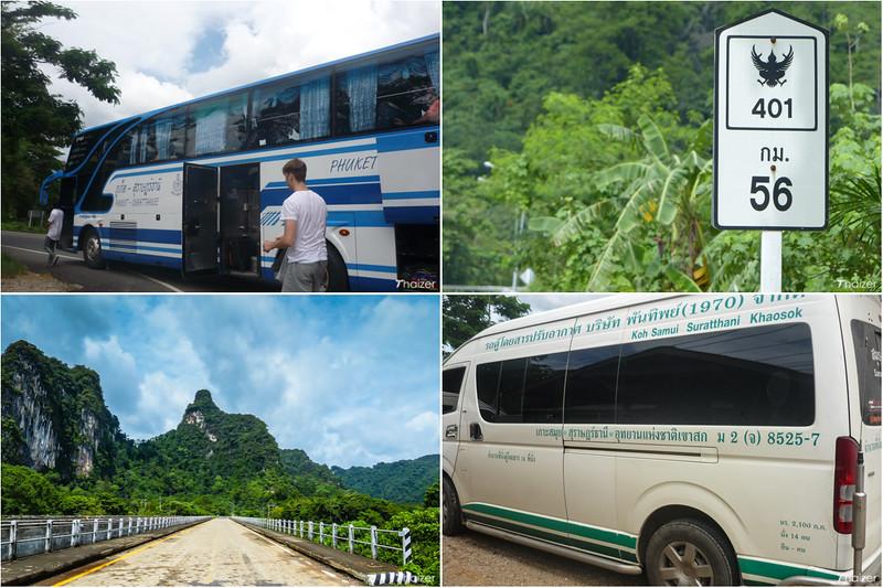 travel to Khao Sok National Park, southern Thailand