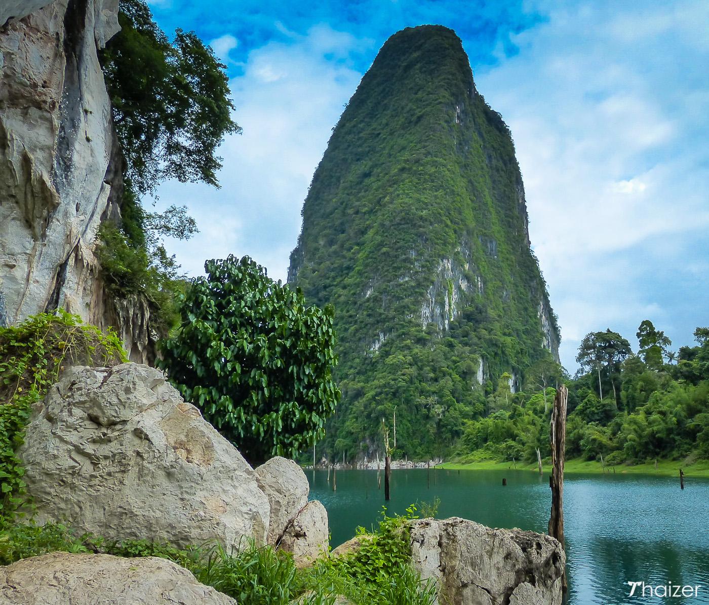 views of Cheow Larn Lake, Khao Sok