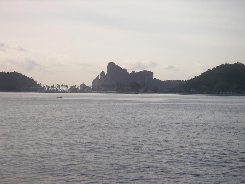 Getting near Ko Phi Phi Don