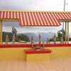 Temple on top of Karst Peak 600m at Wat Tham Seua