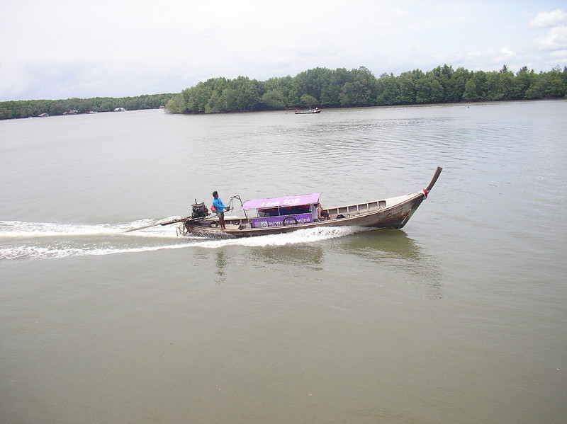 Typical Thai Long Boat - Krabi