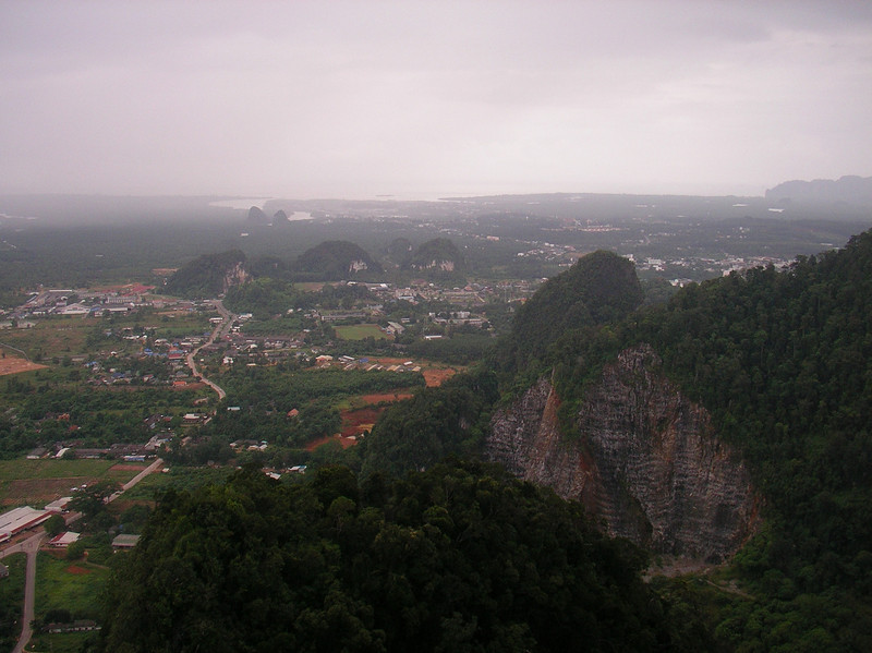 View from Karst Peak