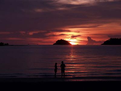 Sunset Kho Chang, Thailand