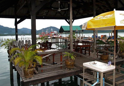 Resteaurant on fishing pier