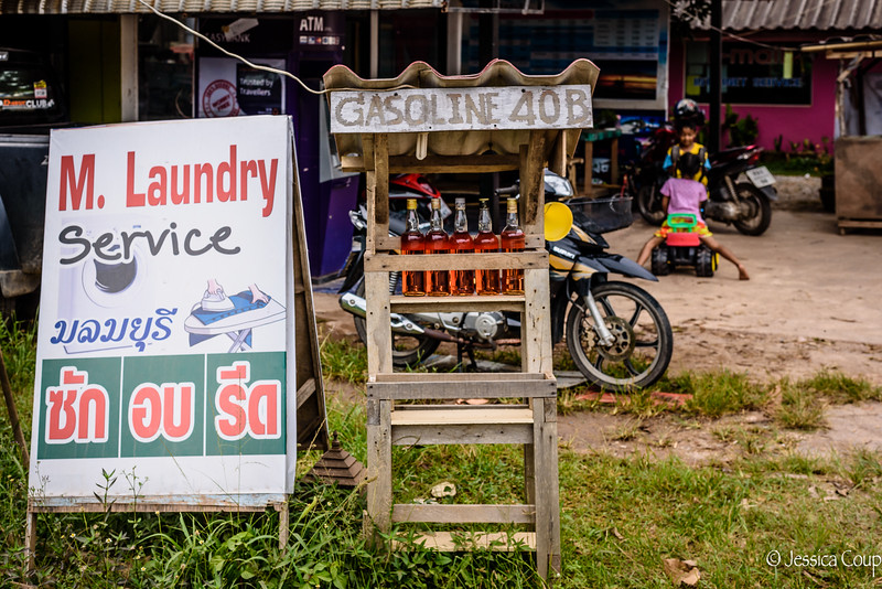 Laundry and Gasoline
