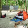 our campsite on Koh Rok-paradise!
