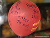 A Mister Donust balloon emblazoned with 2010 good wishes, taken in Khorat, Thailand in late December 2009
