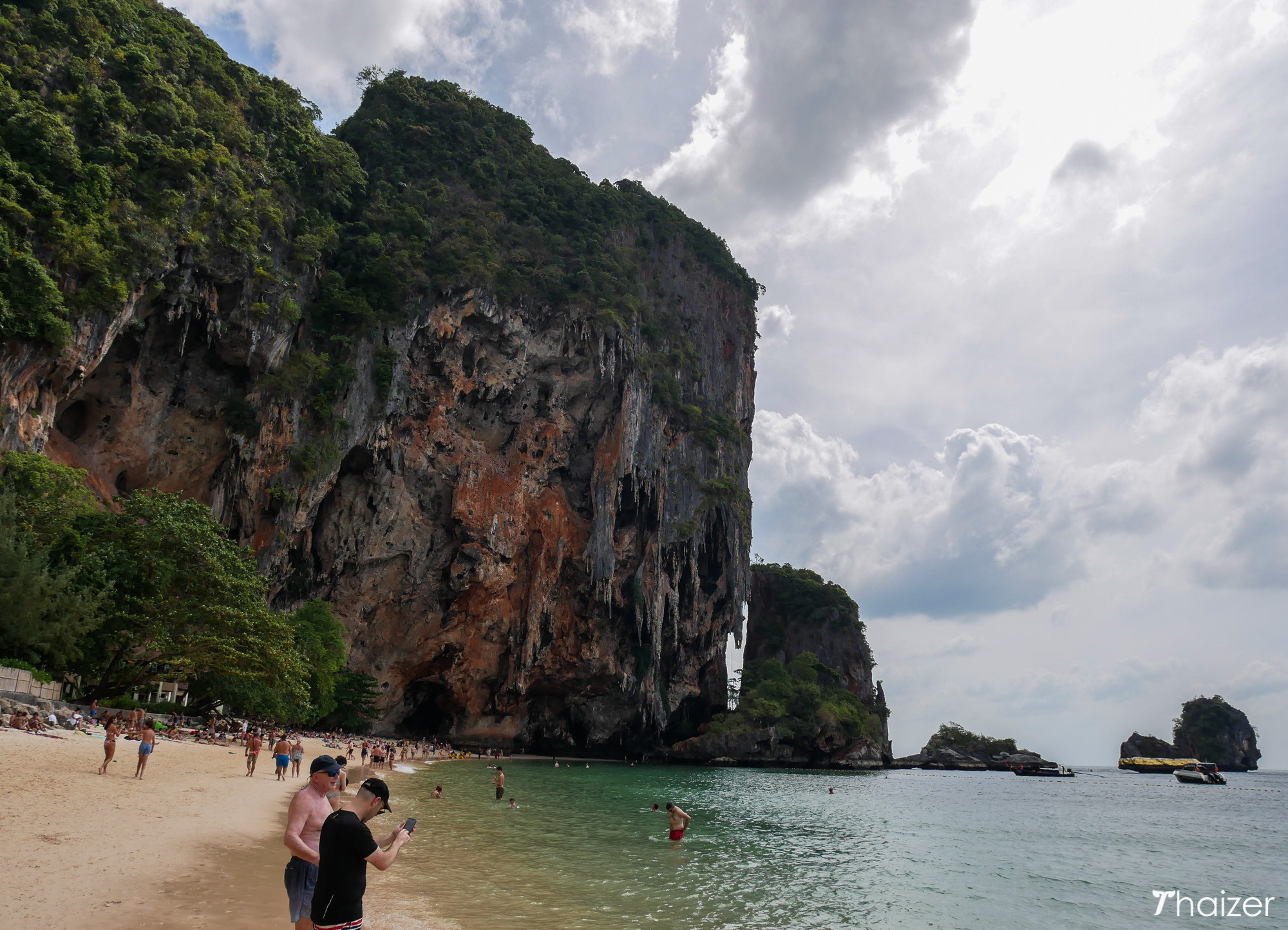 view looking towards Phra Nang Cave, Krabi