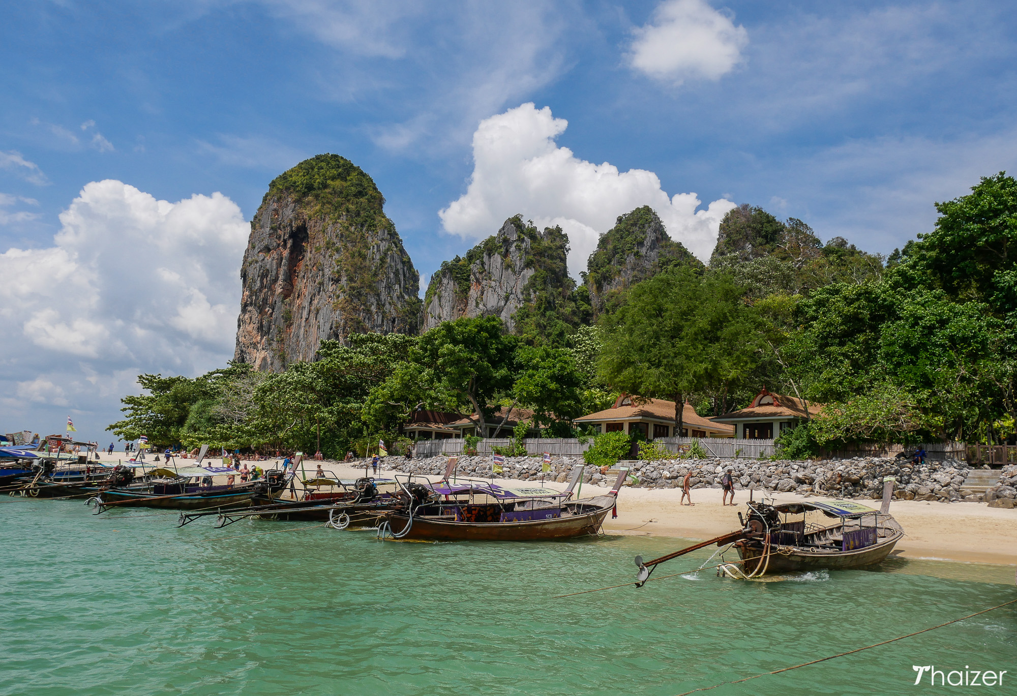 view of Phra Nang Beach, Krabi