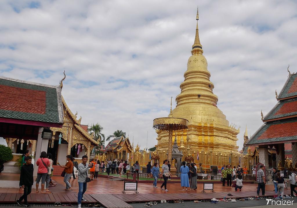 Wat Phra That Haripunchai, Lamphun