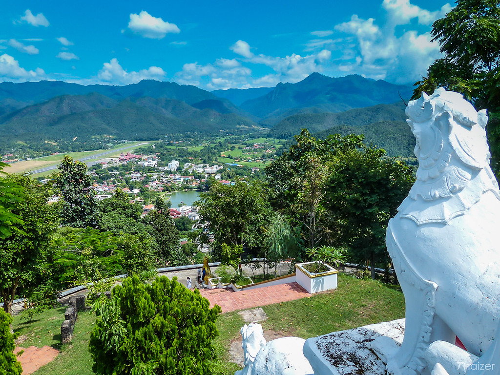 view from Wat Phra That Doi Kong Mu