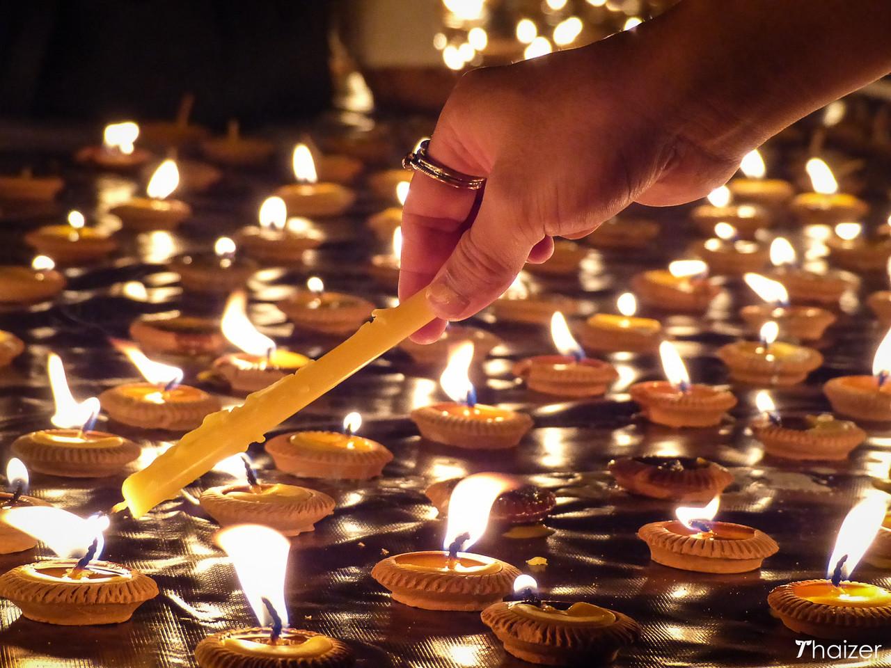 Chiang Mai candles