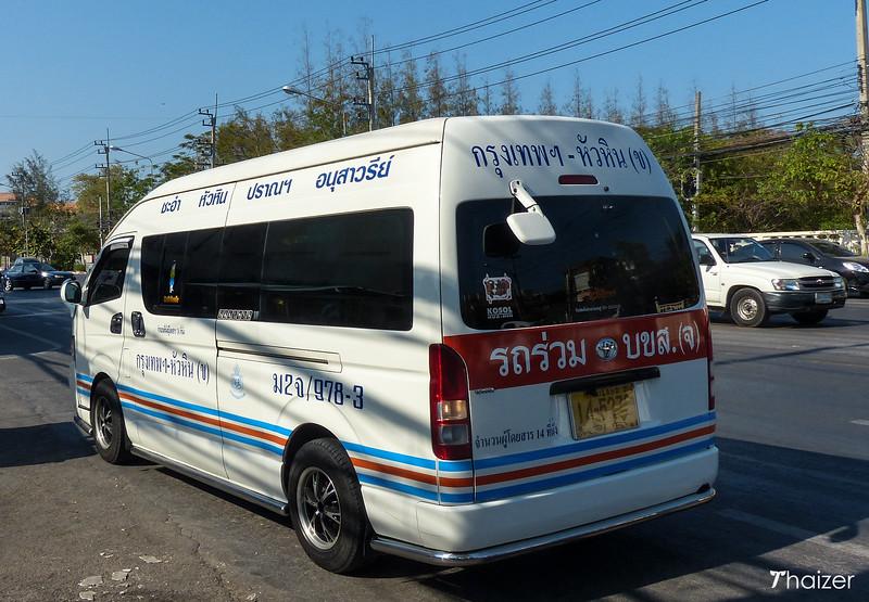 seat belt law Thai mini buses