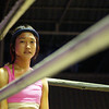 """A Thai girl stands in the corner prior to a Muay Thai fight/match in Chiang Mai, Thailand.  Travel photo from Chiang Mai, Thailand. <a href=""""http://nomadicsamuel.com"""">http://nomadicsamuel.com</a>"""