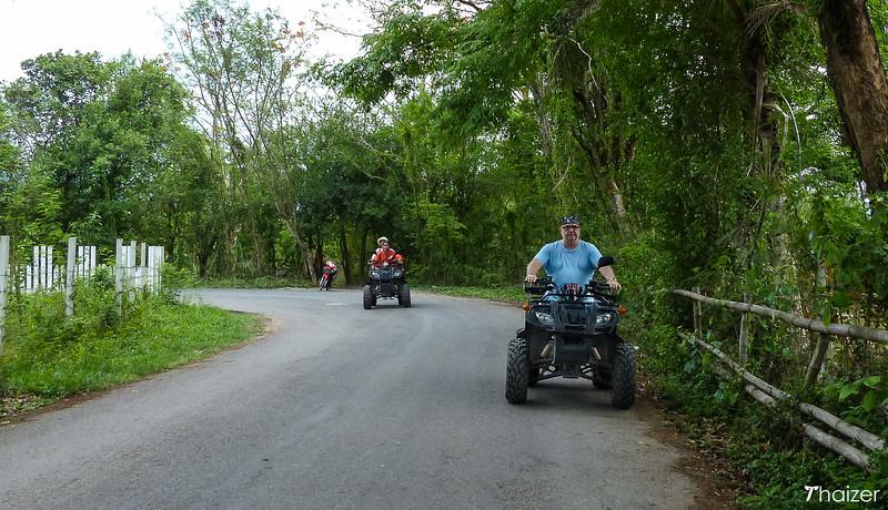 ATV rides in Nakhon Nayok