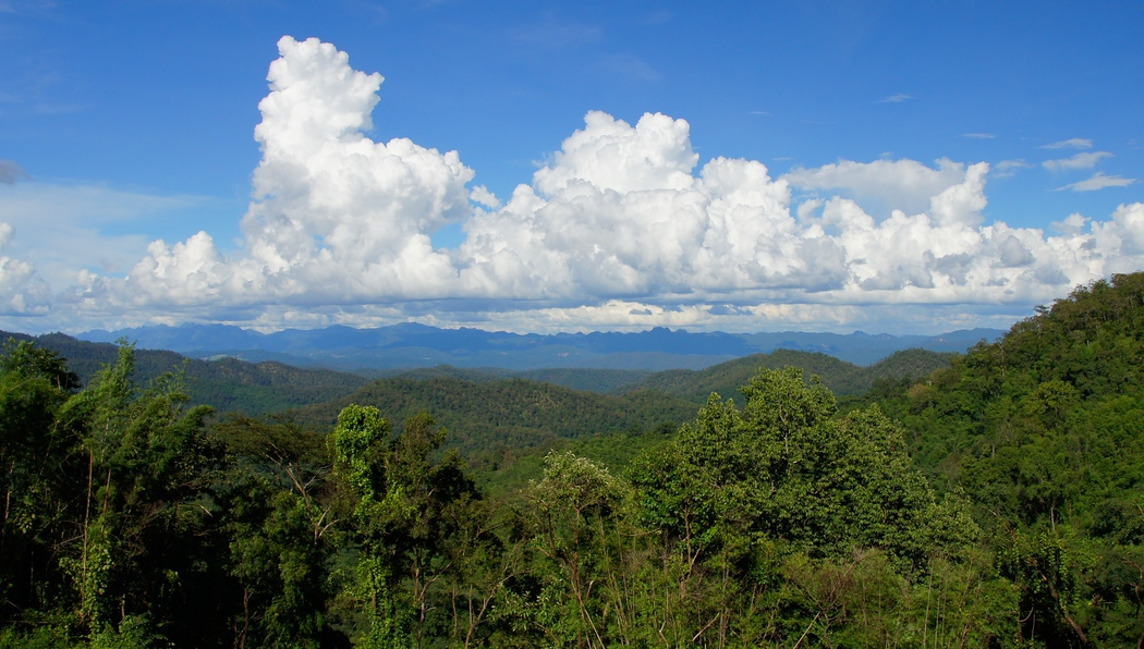 Scenic Views Hill Trek | Pai, Thailand | Travel Photo